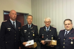 KBM Matthias Trumme, OBM Christian Wichmann, BM Willbald Gellhaus, stv. KBM Udo Schwarz