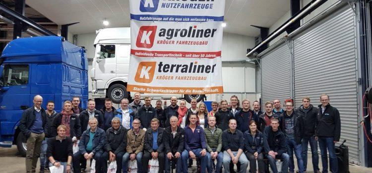 4. Zug Kreisbereitschaft zu Besuch bei der Fa. Kröger Nutzfahrzeuge, Rechterfeld