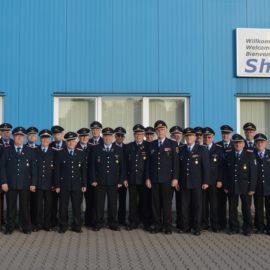 Altersabteilung der Führungskräfte der Feuerwehr besuchte die Firma Hagola in Goldenstedt