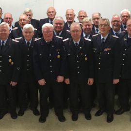 28.11.2016 Ehemalige Feuerwehrmänner trafen sich im Feuerwehrhaus Damme