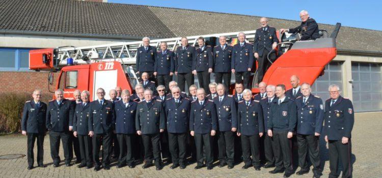 01.04.2016 Ehemalige Feuerwehrmänner trafen sich in Vechta