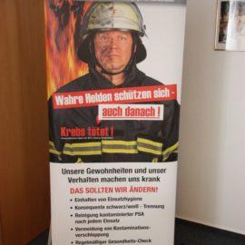 Feuerkrebs gUG informierte über die Hilfsorganisation für Feuerwehrleute