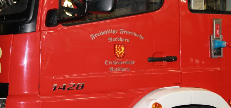 Kreisfeuerwehrbereitschaft LK Grafschaft Bentheim übten bei der Firma Zerhusen Kartonagen in Damme