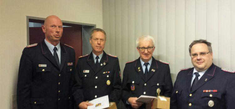 13.12.2017 Ehrungen und Verabschiedungen auf der Brandmeisterdienstbesprechung