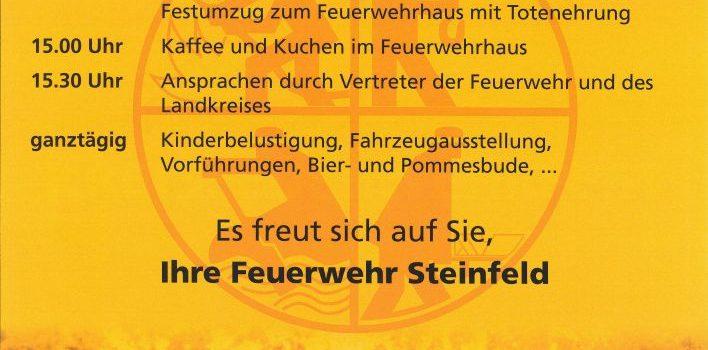 Kreisfeuerwehrfest in Steinfeld