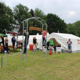 Pfingstzeltlager 2018 in Langförden