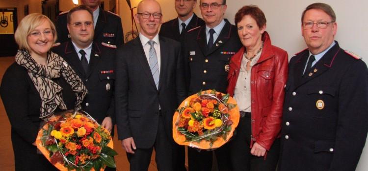 Ernennung und Verabschiedung des stellvertretenden Kreisbrandmeisters  des Landkreises Vechta.